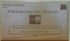 Mann supplier excellence